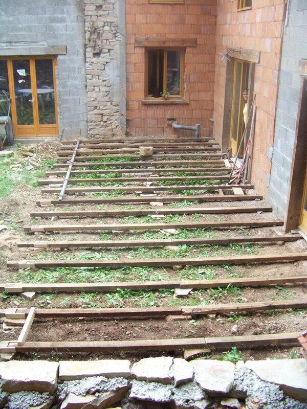Terrasse g otextile r habilitation d 39 une b tisse de 1862 - Pose geotextile terrasse ...