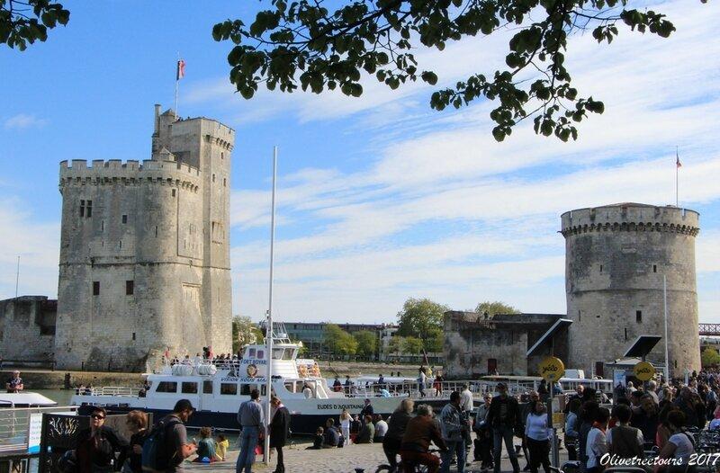 Tour St Nicolas, Tour de la Chaîne, La Rochelle