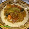 Le fameux couscous marocain