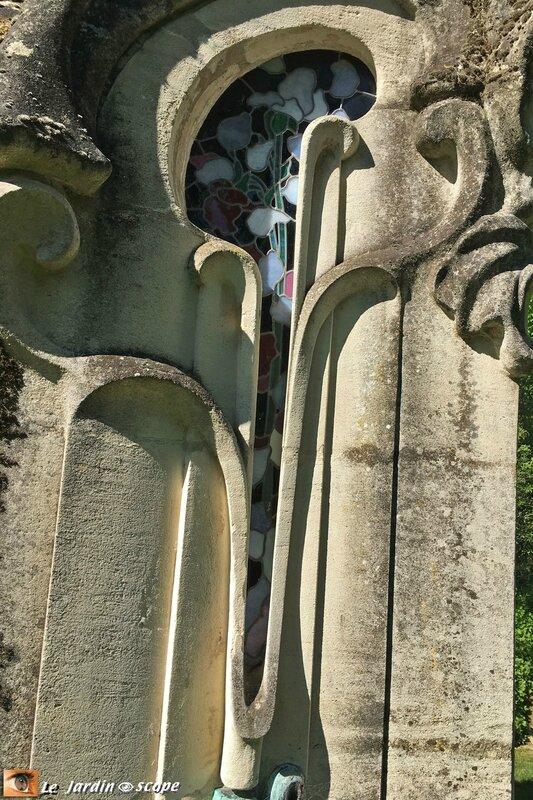 Monument funéraire - jardin du musée de l'École de Nancy