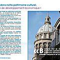 Notre programme pour le patrimoine culturel !