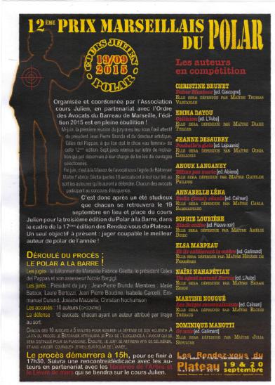 12 Prix Marseillais du Polar
