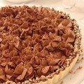 2 variations sur la tarte au chocolat : à la noix de coco caramelisée ou à la mousse au chocolat-noix de pécan