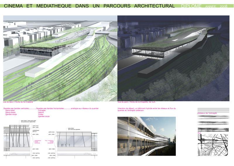 projet de dipl u00d4me d u0026 39 architecture