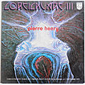 Pierre henry, cortical art iii, philips, lp, 1973