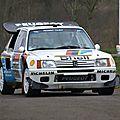 Peugeot 205 turbo 16. les griffes du lion.