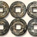 Annam (1726-84) thai binh thong bao (zinc)