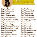 30 days photo challenge