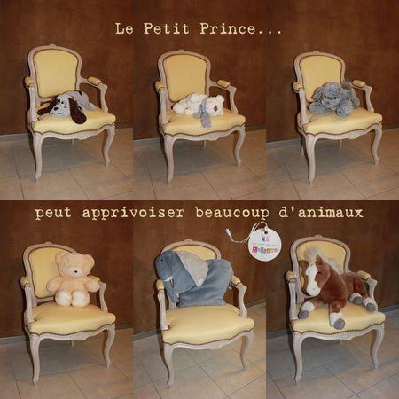 Cabriolet le Petit Prince et animaux