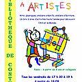Un atelier artistique et créatif ouvrira ses portes le 18 septembre !