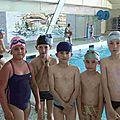 Les scolaires à la piscine