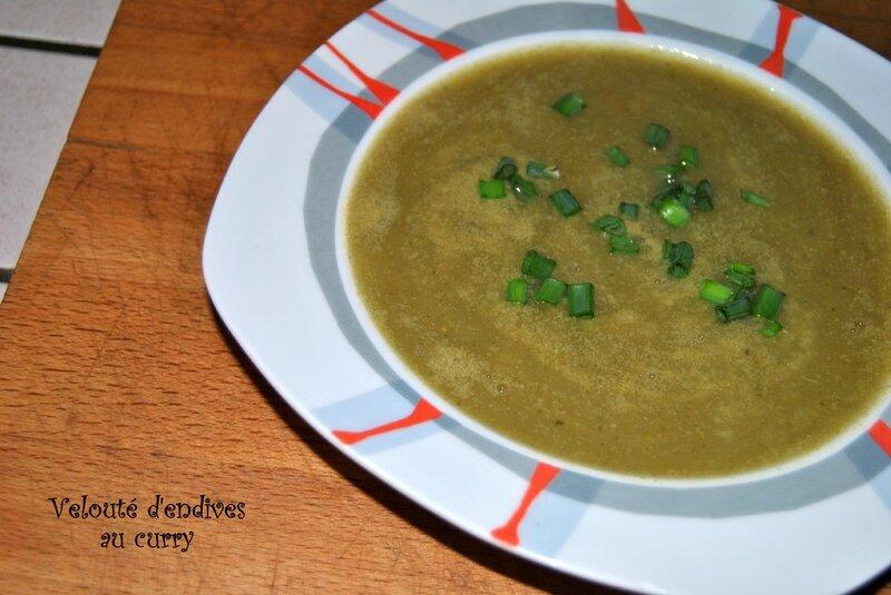Velouté d'endives au curry