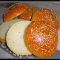 Pains hamburger ou buns extra...