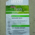 Gel peeling masque, lavera