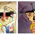francesco Clemente untitled 1984