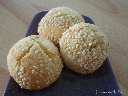Biscuits sésame et amande