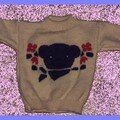 0026 ourson et fleurs