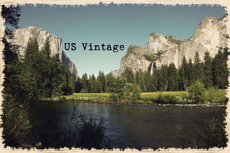 us vintage yosemite view