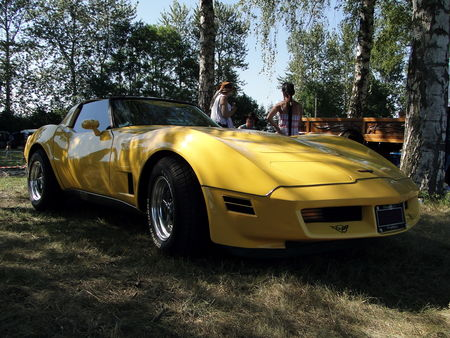 CHEVROLET Corvette Coupe 1980 1982 Concentration de Vehicules Americains Ohnenheim 2011 1