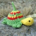 Des tortues au crochet de retour de vacances pour les serial crocheteuse 287