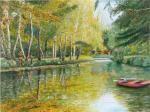 -2013- La barque rouge -61x46-