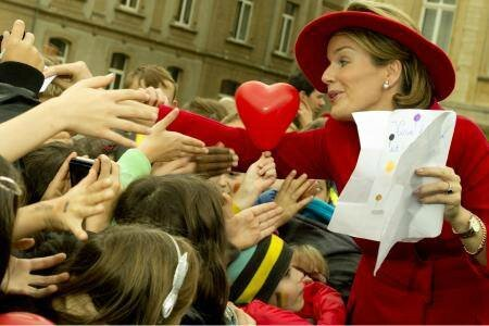 Mathilde Reine aux enfants