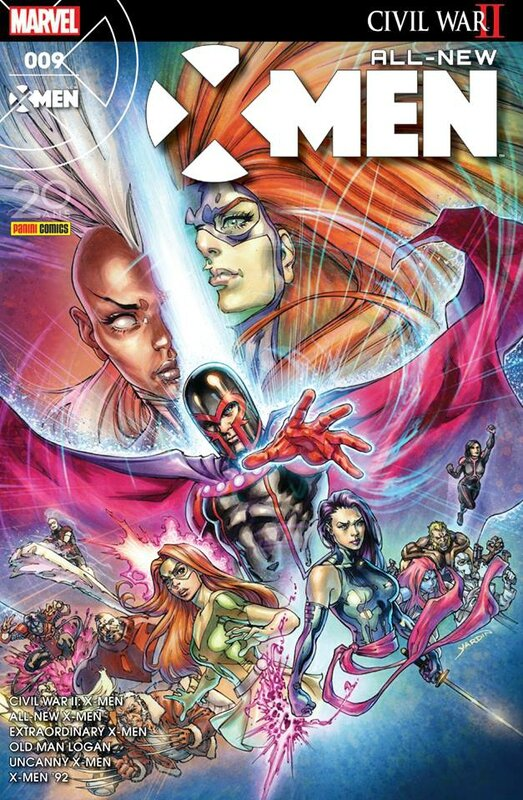 all new x-men 09