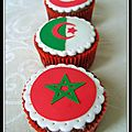 Dco drapeaux pour cupcakes...