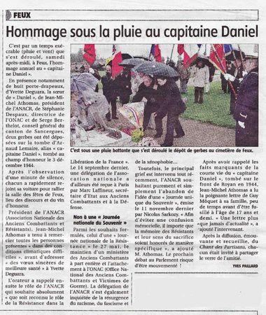 Capitaine Daniel-