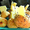 Gougères au fromage pavot et paprika