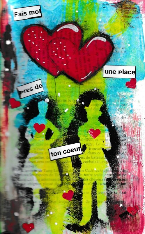 Art Journal St Valentin2016