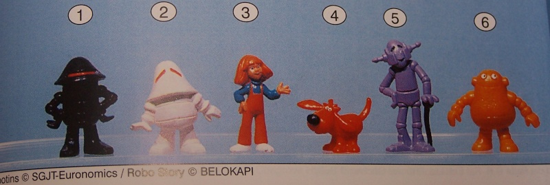 Robostory figurines (site collect-all