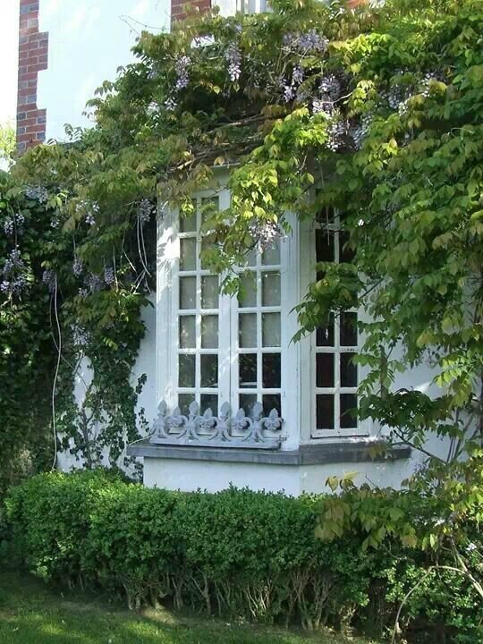 The bow windows le cottage de gwladys for Maison avec bow window