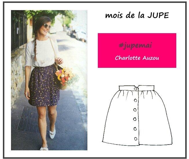 Jupe Mai - Charlotte Auzou
