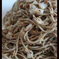 Soba au ssame