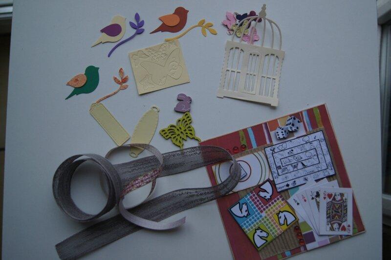 DSC01960 Carte et scrapbidules envoyés à Guernezelle