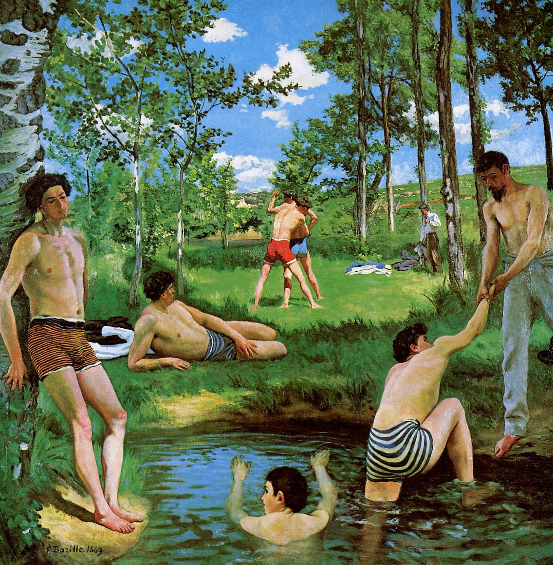 The youth of Impressionism: Works by Frédéric Bazille on view in Paris