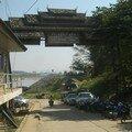 Porte vers le Laos