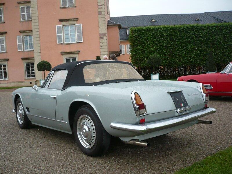 MASERATI 3500 GT Vignale spider 1963 Schwetzingen (2)
