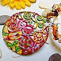 Collier romantic flower n°2 A vendre (2)