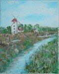 -2005- Le moulin -24x19-