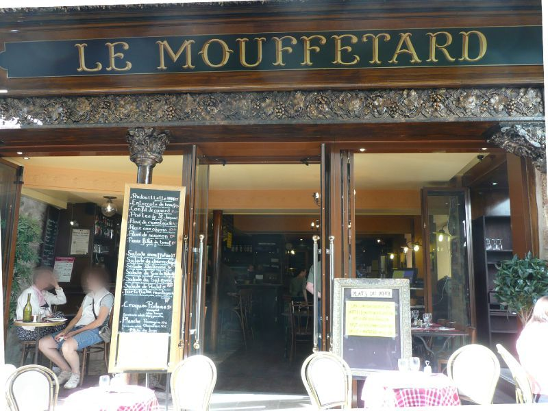 MOUFFETARD Paris Restaurant Devanture Humour Jeu de mot Photo ...