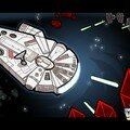 Faucon millenium falcon Star wars