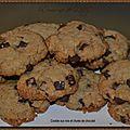 Cookies aux noix et chunks de chocolat