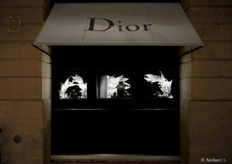 Vitrine Dior VENDOME