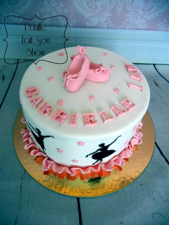 gateau danse classique ballerina cake prunillefee 2