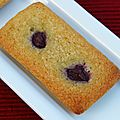 Financiers pistache-cerises