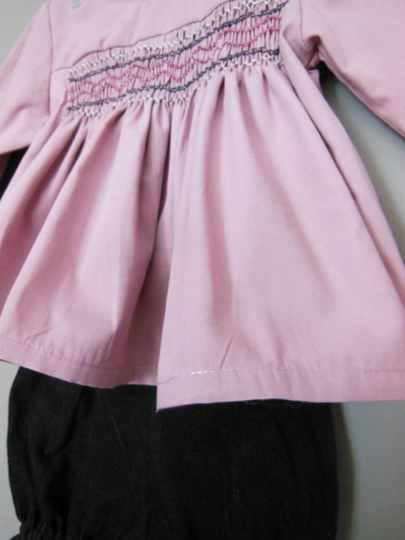 Tenue blouse smocks-sweet boudoir6M 1-3