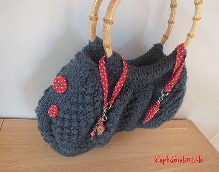 comment tricoter un sac