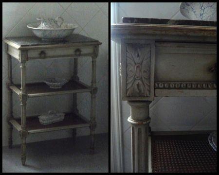 Un petit meuble gris baucis et phil mon - Petit meuble gris ...